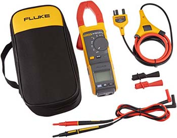 10: Fluke 381 Remote Display True-RMS AC/DC Clamp Meter with iFlex