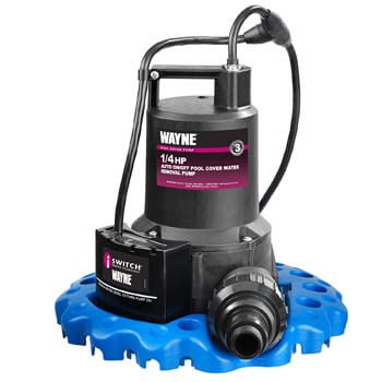 2. WAYNE WAPC250 1/4 HP Automatic ON/OFF Water Removal Pool Cover Pump