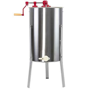 10. Best Choice Products 2 Frame Stainless Steel Honey Extractor