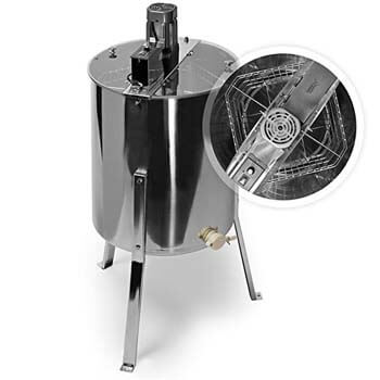 7. Honey Keeper Pro Electric 4 Four Frame Stainless Steel Honey Extractor