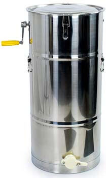 5. VIVO New Two 2 Frame Stainless Steel Bee Manual Crank Honey Extractor