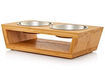 9. Pawfect Pets Premium Elevated Dog and Cat Pet Feeder
