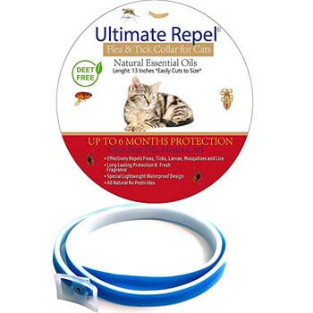9. Ultimate Repel Flea and Tick Collar for Cats