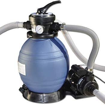3. Sand Master Soft Sided Above Ground Pool Sand Filter System