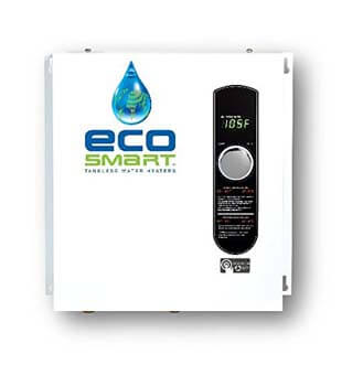 4. EcoSmart ECO 27 Electric Tankless Water Heater