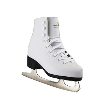 7. American Athletic Shoe Girl's Tricot Lined Ice Skates