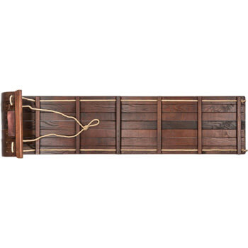 8. Lucky Bums Heirloom Collection Wooden Toboggan
