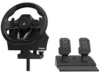 3: HORI Racing Wheel Apex for PlayStation 4/3, and PC