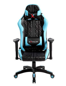 5: United Office Chair 7219BL Swivel PU Leather Gaming