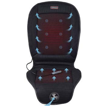 7: Seat Cushion with 3 Levels Cooling and 2 Levels Heating SL26A8 Cool and Heating Pad