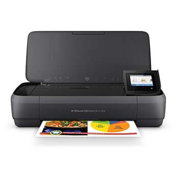 8: HP OfficeJet 250 All-in-One Portable Printer with Wireless & Mobile Printing (CZ992A)